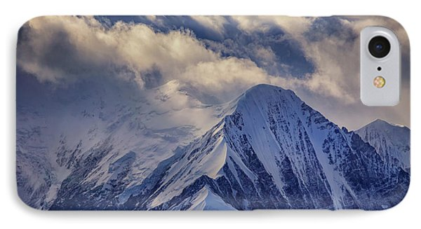 A Peak In The Clouds IPhone Case by Rick Berk
