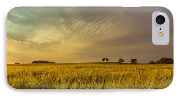 A Peek Above The Grass IPhone Case by Chris Fletcher