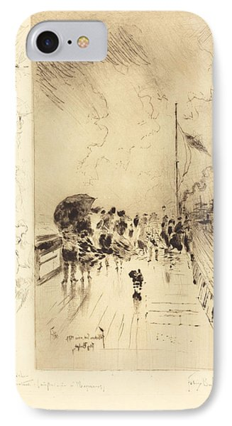 A Pier In England IPhone Case by Mountain Dreams