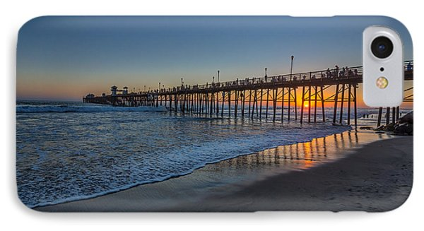 A Piers To Be Last Light IPhone Case by Peter Tellone