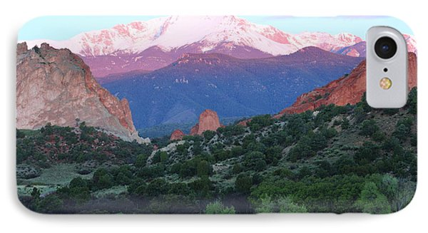A Pikes Peak Sunrise IPhone Case