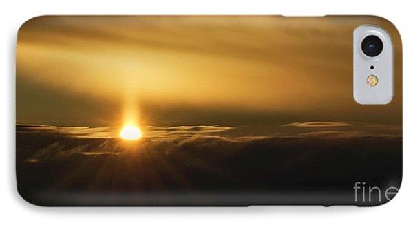 A Pillar Of Golden Light IPhone Case by Brad Allen Fine Art