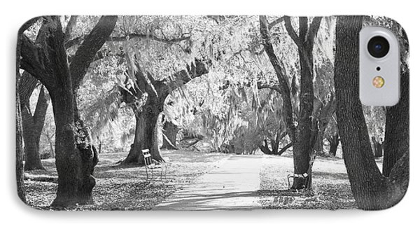 A Place For Contemplation Ir Phone Case by Suzanne Gaff