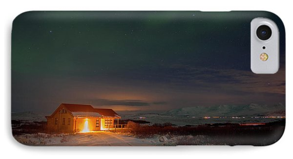 IPhone Case featuring the photograph A Place For The Night, South Of Iceland by Dubi Roman