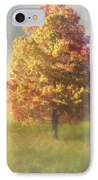 A Poem As Lovely As A Tree - Autumn Art IPhone Case