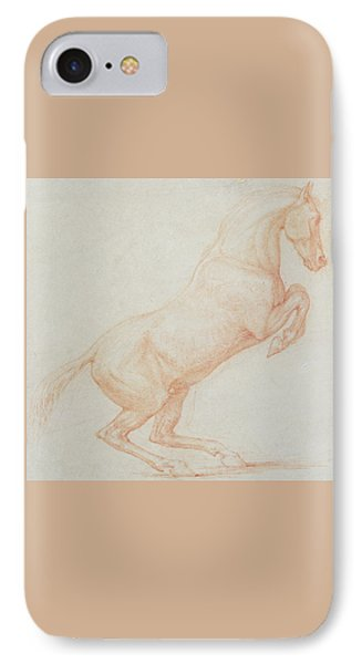 A Prancing Horse IPhone Case
