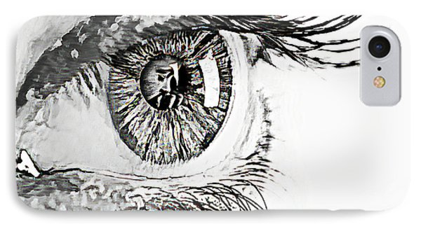 A Prayerful Eye IPhone Case