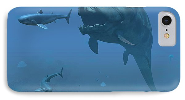 A Prehistoric Dunkleosteus Fish IPhone Case