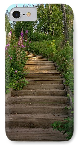 IPhone Case featuring the photograph A Promising Path by Heidi Hermes