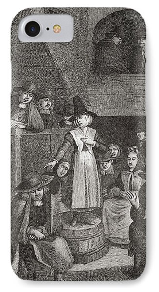 A Quaker S Meeting In The Seventeenth IPhone Case