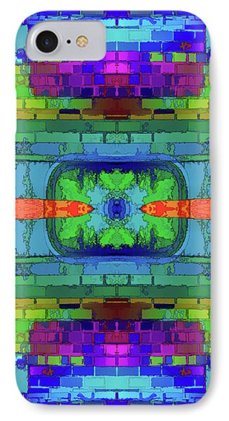 IPhone Case featuring the digital art A Question Of Balance by Wendy J St Christopher