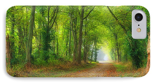 A Quiet Country Lane IPhone Case