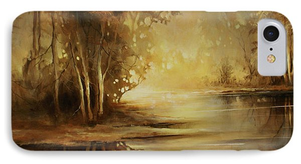 A Quiet Moment IPhone Case by Michael Lang
