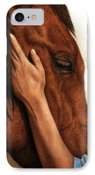A Quiet Moment IPhone Case by Pat Erickson