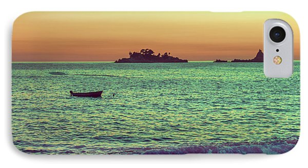 A Quiet Summer Evening On The Montenegrin Coast Of The Adriatic Sea IPhone Case
