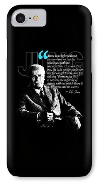 A Quote From Carl Gustav Jung Quote #21 Of 50 Available IPhone Case