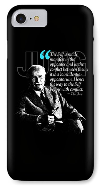 A Quote From Carl Gustav Jung Quote #22 Of 50 Available IPhone Case