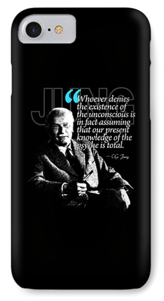 A Quote From Carl Gustav Jung Quote #23 Of 50 Available IPhone Case
