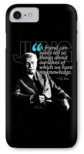 A Quote From Carl Gustav Jung Quote #26 Of 50 Available IPhone Case