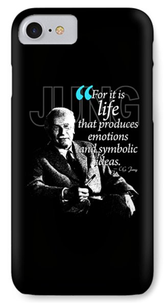 A Quote From Carl Gustav Jung Quote #35 Of 50 Available IPhone Case