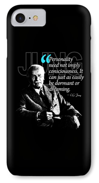 A Quote From Carl Gustav Jung Quote #37 Of 50 Available IPhone Case