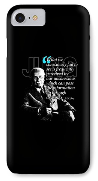 A Quote From Carl Gustav Jung Quote #45 Of 50 Available IPhone Case