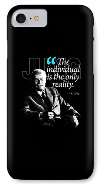 A Quote From Carl Gustav Jung Quote #5 Of 50 Available IPhone Case