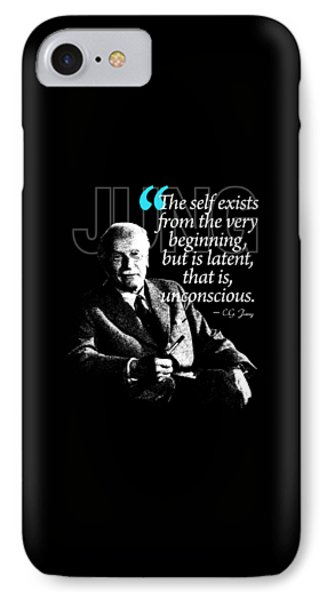 A Quote From Carl Gustav Jung Quote #6 Of 50 Available IPhone Case