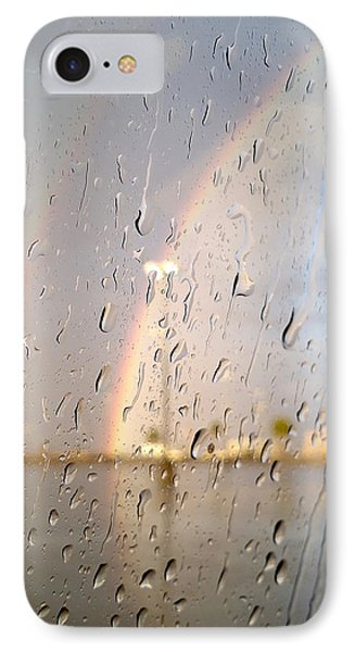 A Rainbow In My World #2 IPhone Case by Kume Bryant
