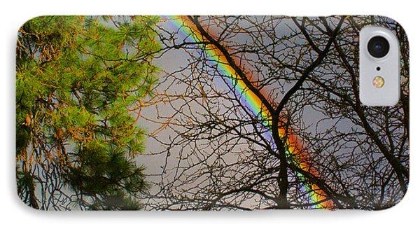 A Rainbow Tree Phone Case by Ben Upham III
