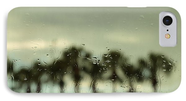 A Rainy Day IPhone Case by Christopher L Thomley
