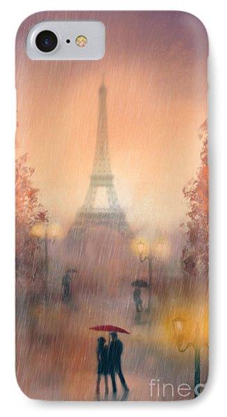 A Rainy Evening In Paris IPhone Case
