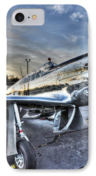 A Reflective Mustang IPhone Case by David Collins