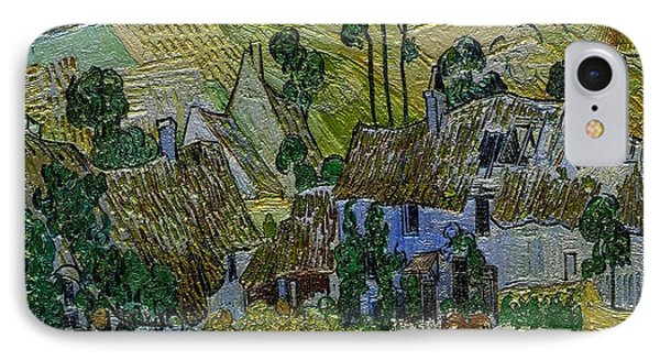A Replica Of A Painting  Of Van Gogh IPhone Case by Pemaro