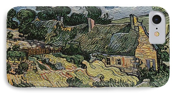 a replica of the landscape of Van Gogh IPhone Case by Pemaro