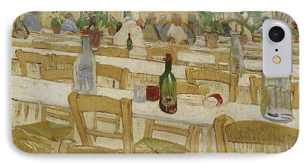A Restaurant Interior IPhone Case by Vincent Van Gogh