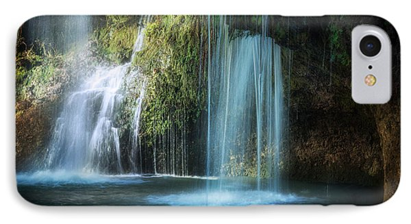 A Resting Place At Natural Falls IPhone Case