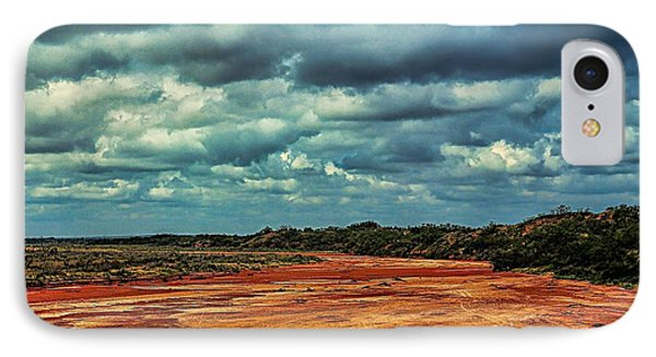 IPhone Case featuring the photograph A River Of Red Sand by Diana Mary Sharpton