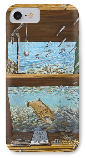 A River Runs Through It Phone Case by Susan Schneider