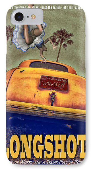 A Road Of Worry A Trunk Full Of Possabilities Phone Case by Bob Winberry