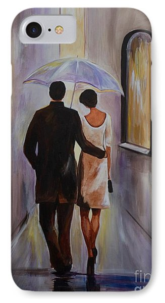 A Romantic Stroll IPhone Case