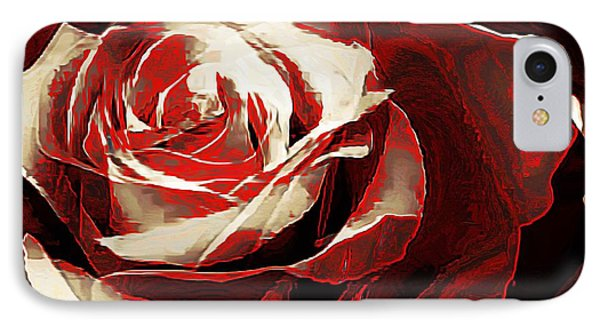 A Rose Of Love IPhone Case by Lynda Payton