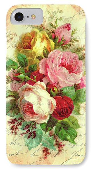 A Rose Speaks Of Love IPhone Case by Tina LeCour