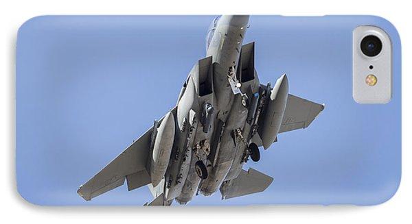 A Royal Saudi Air Force F-15s Strike IPhone Case