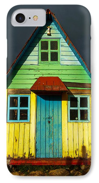 A Rustic Colorful House IPhone Case
