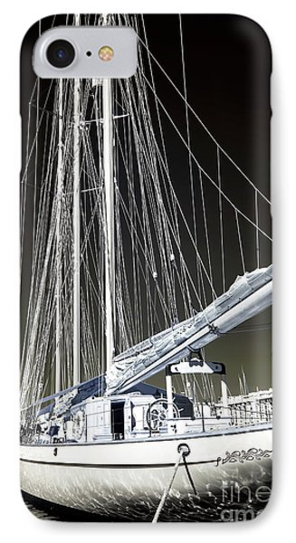 A Sailboat In Marseille Phone Case by John Rizzuto