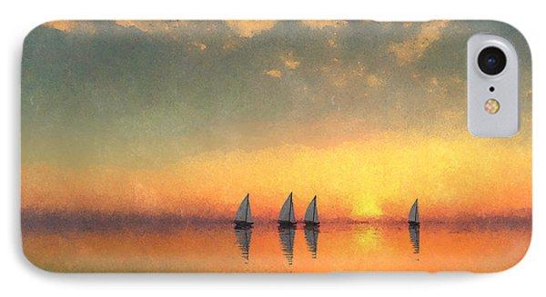 A-sailing... IPhone Case