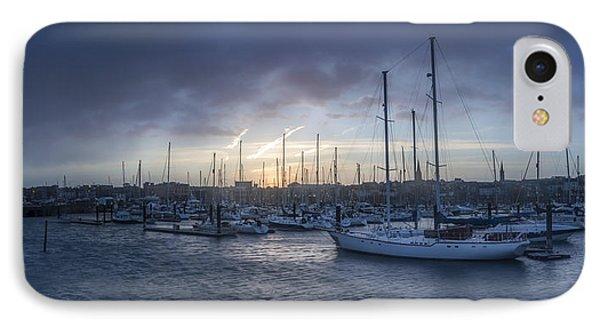 A Sailors Warning At Bangor Marina IPhone Case