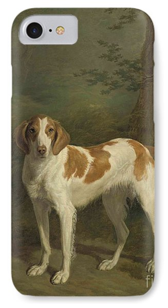 A Setter In A Wooded Landscape. IPhone Case by MotionAge Designs