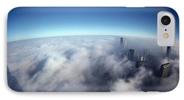 A Shadow Of The Sears Tower Slants IPhone 7 Case